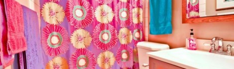 Technicolor Bathroom