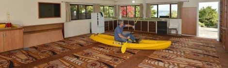 …and this is my kayaking room.