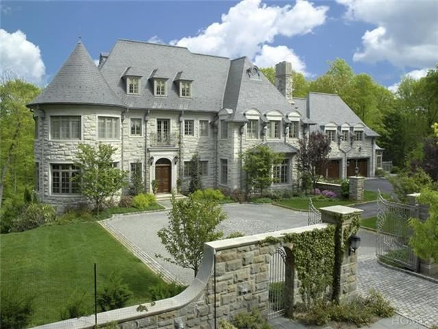 Move Over Ron Howard To The House Right Next Door on French Country Home Exterior With Stone