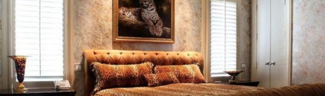 Leopard Bedroom is Leopard