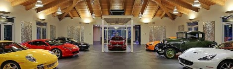 Behold the $4M Live-In Car Showroom