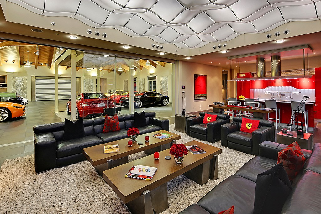 best garages to live in.  Undisclosed Address Hunts Point WA 98004 Behold the 4M Live In Car Showroom Looney Listing