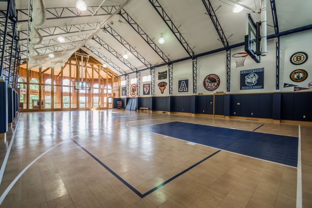 Name your price for this 20 000 square foot game for Indoor basketball court price